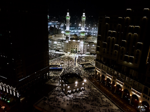 Masjid Al Haram View from Conrad Makkah Suite review