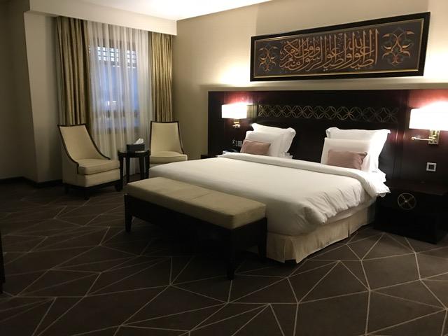 Pullman ZamZam Madinah 2-Bedroom Suite Master Bedroom