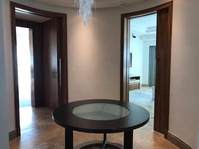 Hyatt Capital Gate Abu Dhabi Executive Suite Entry