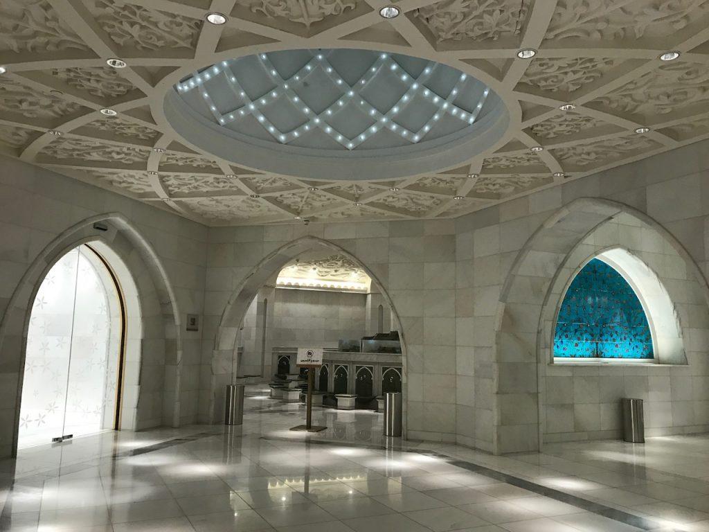 Sheikh Zayed Mosque Bathroom